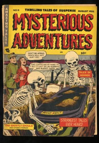 Item: Mysterious Adventures #9 FA/GD 1.5