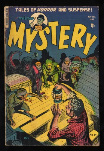 Item: Mister Mystery #14 VG 4.0