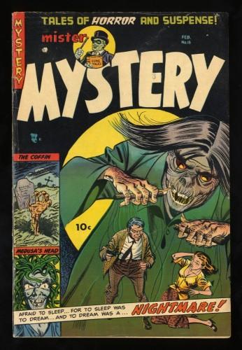 Item: Mister Mystery #15 FN- 5.5