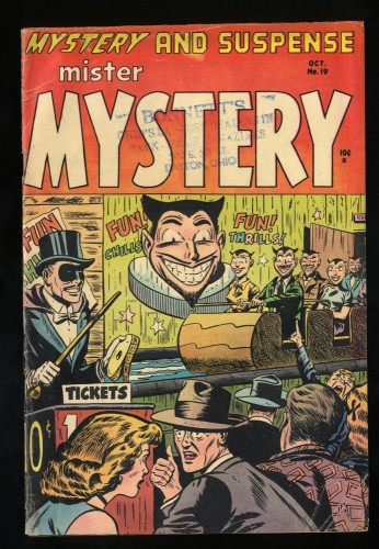Item: Mister Mystery #19 VG 4.0