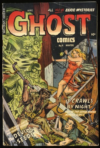 Item: Ghost Comics #9 VG+ 4.5