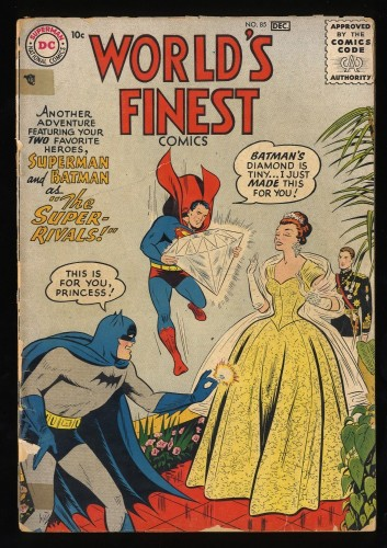 Item: World's Finest Comics #85 Fair 1.0
