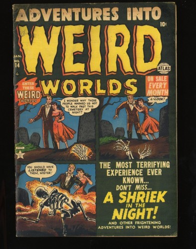 Item: Adventures Into Weird Worlds #14 FN+ 6.5