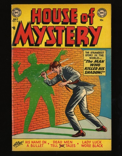 Item: House Of Mystery #16 FN+ 6.5