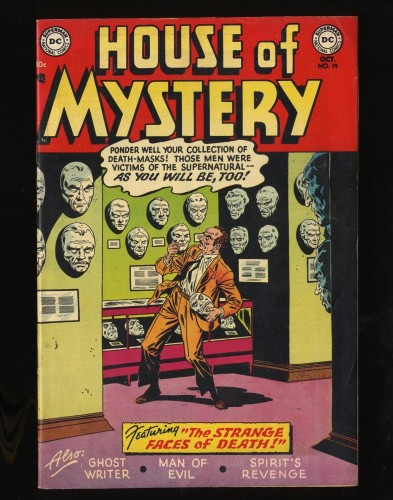 Item: House Of Mystery #19 FN- 5.5