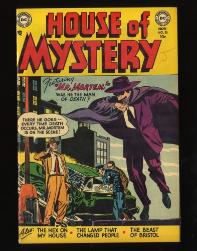 Item: House Of Mystery #20 FN/VF 7.0