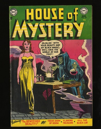 Item: House Of Mystery #24 FN+ 6.5