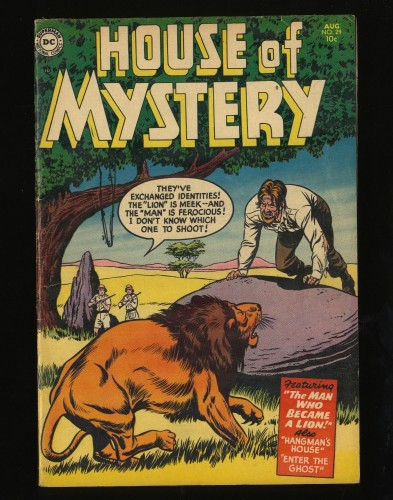 Item: House Of Mystery #29 FN+ 6.5