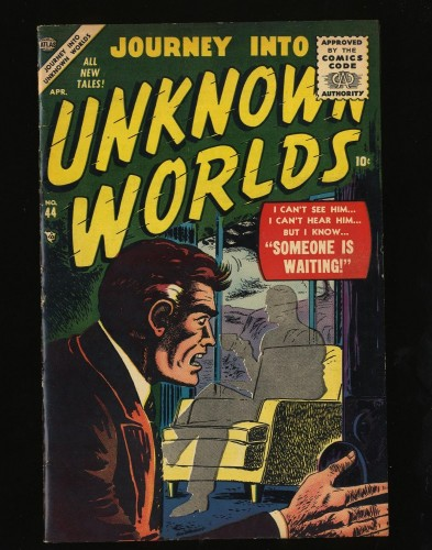 Item: Journey Into Unknown Worlds #44 FN/VF 7.0