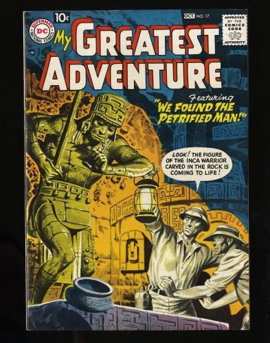 Item: My Greatest Adventure #17 VF 8.0 Big Apple Jack Kirby Greytone!!