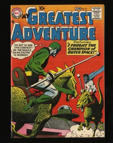 Item: My Greatest Adventure #21 NM- 9.2 Big Apple