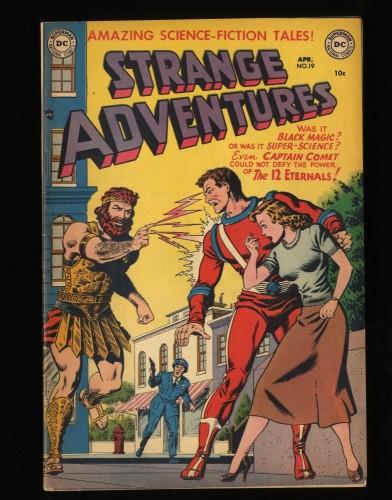 Item: Strange Adventures #19 FN/VF 7.0