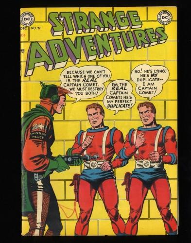 Item: Strange Adventures #27 FN+ 6.5