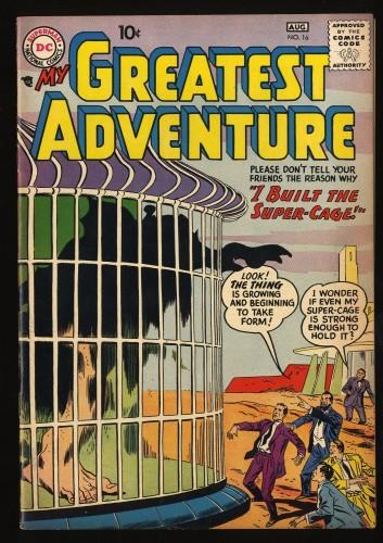 Item: My Greatest Adventure #16 VF+ 8.5 Jack Kirby Art!