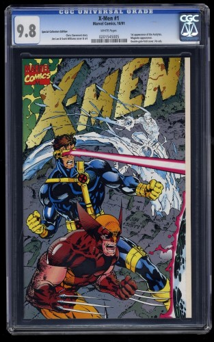 Item: X-Men #1 CGC NM/M 9.8 White Special Collectors Edition