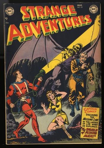 Item: Strange Adventures #18 FN/VF 7.0