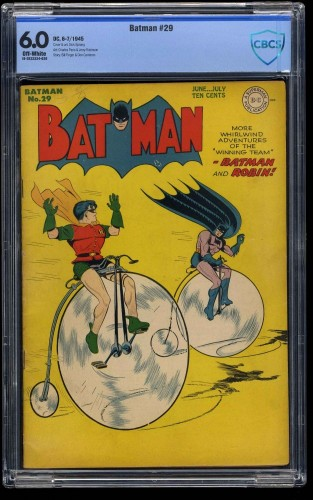 Item: Batman #29 CBCS FN 6.0 Off White