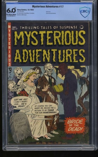 Item: Mysterious Adventures #17 CBCS FN 6.0 Off White to White