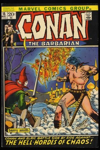 Conan #15 FN/VF 7.0 Ramey Collection