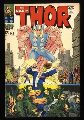 Thor #138 VF- 7.5