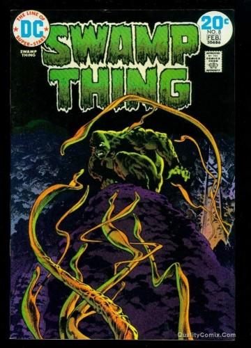 Swamp Thing #8 VF 8.0