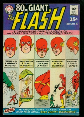 80 Page Giant #4 FN+ 6.5 Flash!