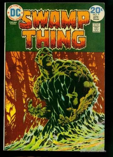 Swamp Thing #9 VF+ 8.5