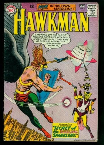 Hawkman #2 VG 4.0