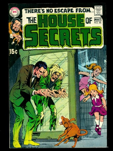House Of Secrets #85 VF 8.0 Tongie Farm Collection