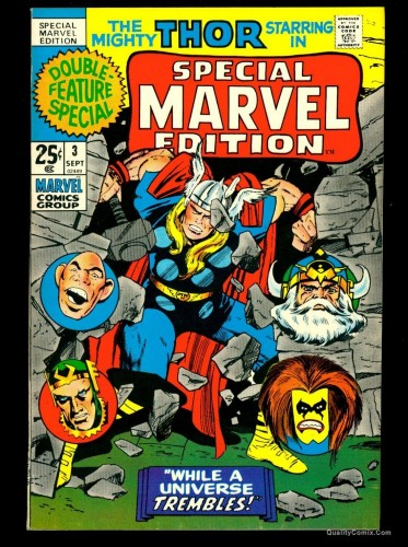Special Marvel Edition #3 NM 9.4 Tongie Farm Collection