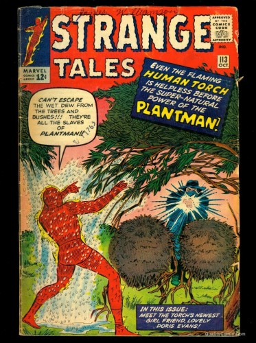 Strange Tales #113 GD+ 2.5 Tongie Farm Collection