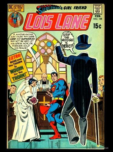 Superman's Girlfriend Lois Lane #108 VF 8.0 Tongie Farm Collection