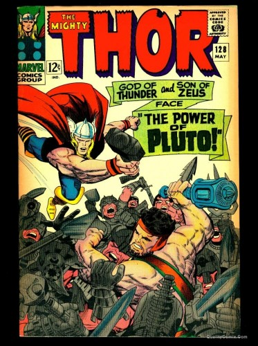 Thor #128 VG/FN 5.0 Tongie Farm Collection Marvel Comics