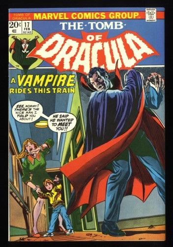 Tomb Of Dracula #17 NM- 9.2 Tongie Farm Collection Marvel Comics