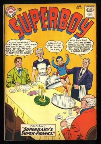 Superboy #112 FN 6.0 DC Comics Superman