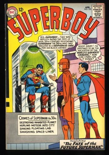 Superboy #120 FN 6.0 DC Comics Superman