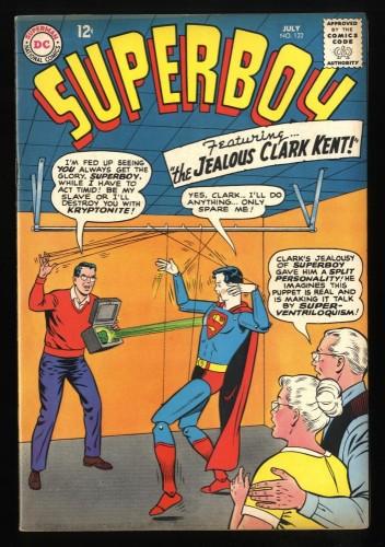 Superboy #122 FN+ 6.5 DC Comics Superman