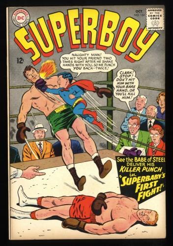 Superboy #124 FN+ 6.5 DC Comics Superman