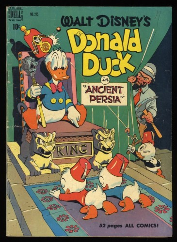 Four Color #275 VG+ 4.5 Donald Duck Barks