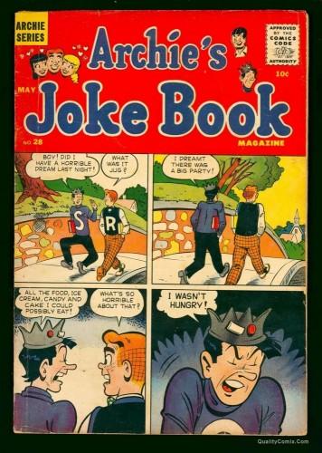 Archie's Joke Book #28 GD/VG 3.0