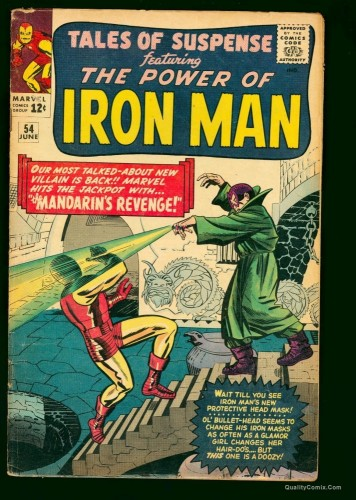 Tales Of Suspense #54 VG 4.0