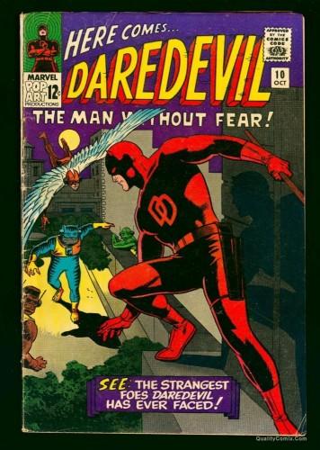 Daredevil #10 VG- 3.5