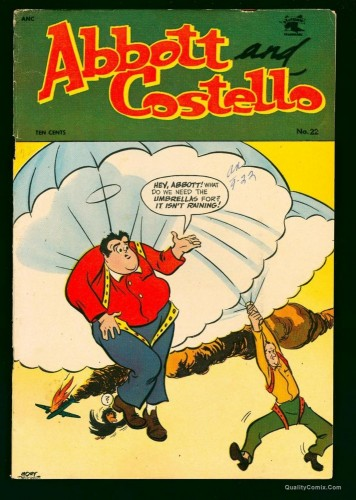 Abbott and Costello #22 VG+ 4.5