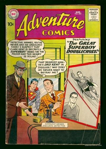 Adventure Comics #263 VG- 3.5