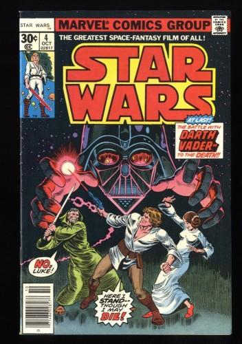 Star Wars #4 NM- 9.2