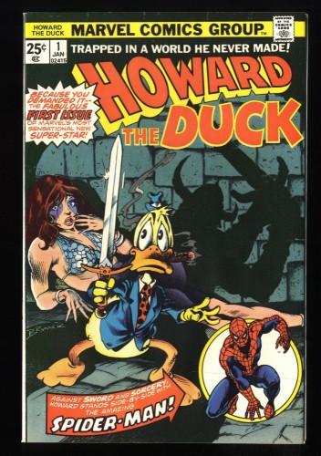 Howard the Duck #1 FN/VF 7.0