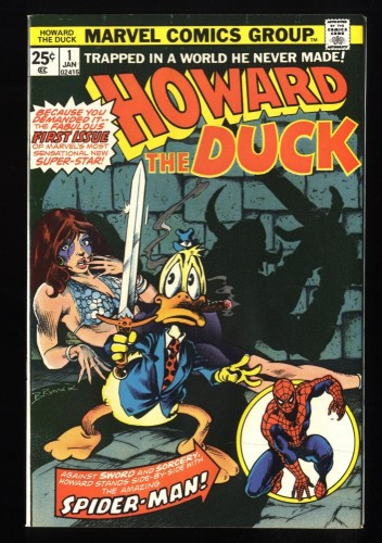 Howard the Duck #1 NM+ 9.6