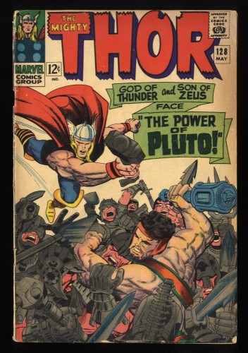 Thor #128 GD 2.0 Marvel Comics