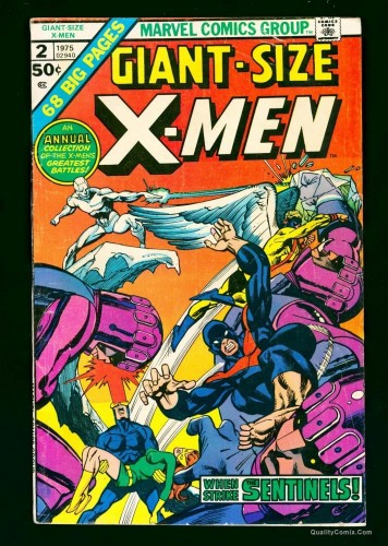 Giant-Size X-Men #2 GD+ 2.5