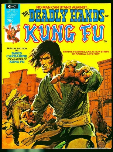 The Deadly Hands of Kung Fu #4 NM- 9.2